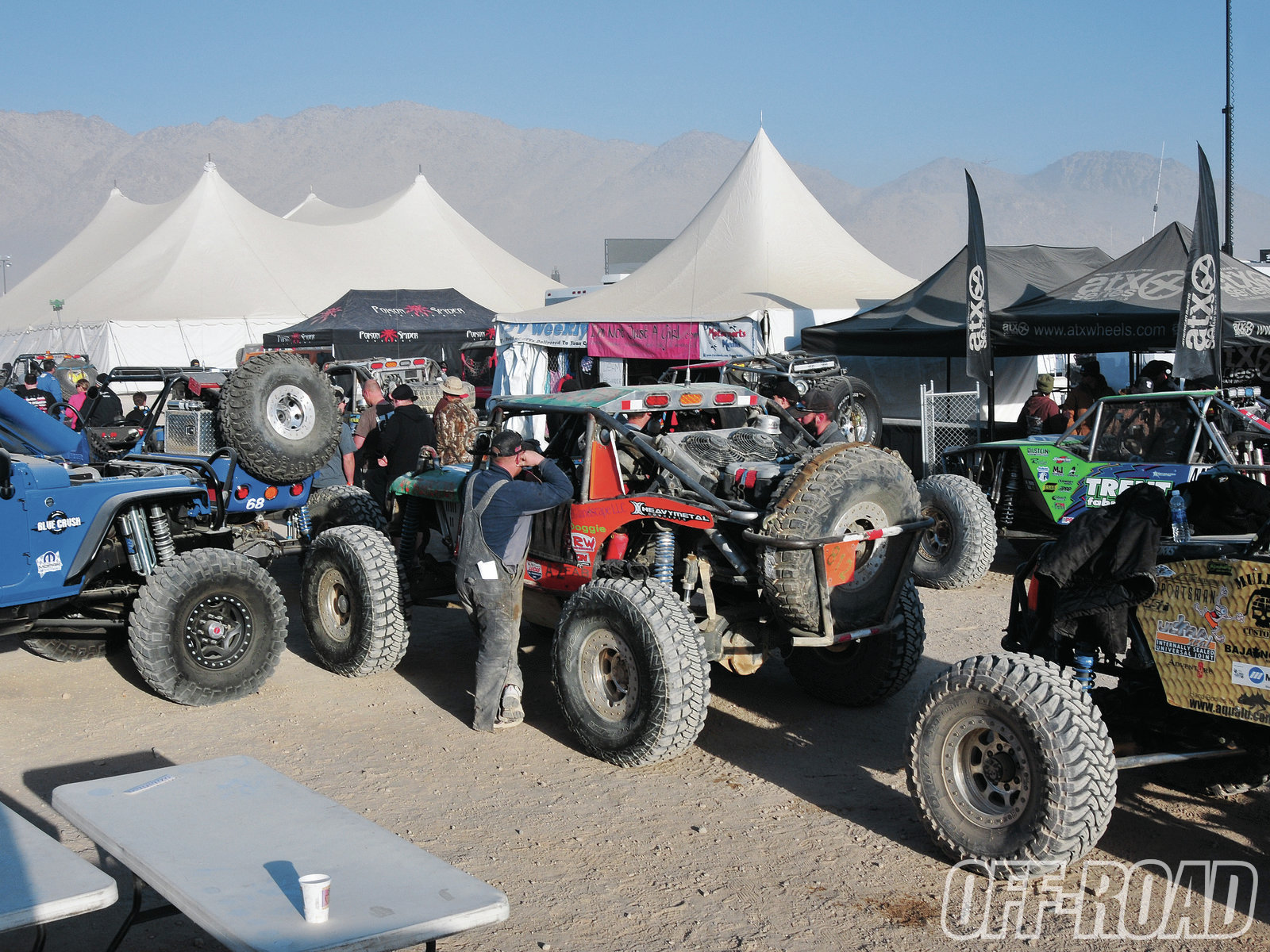 1206or 08+king of the hammers 2012+unlimited class race trucks in line
