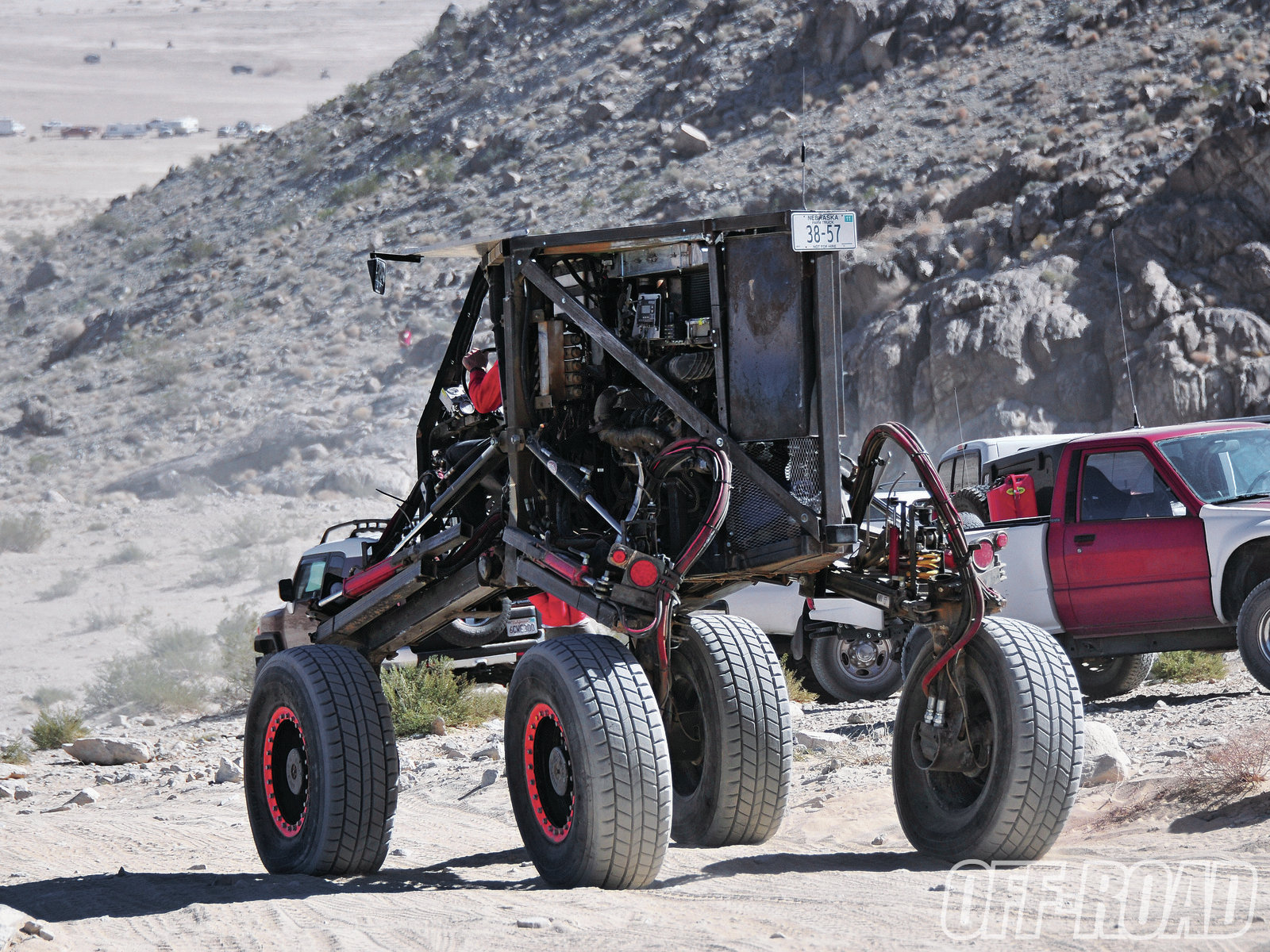 1206or 11+king of the hammers 2012+hydraulically driven buggy