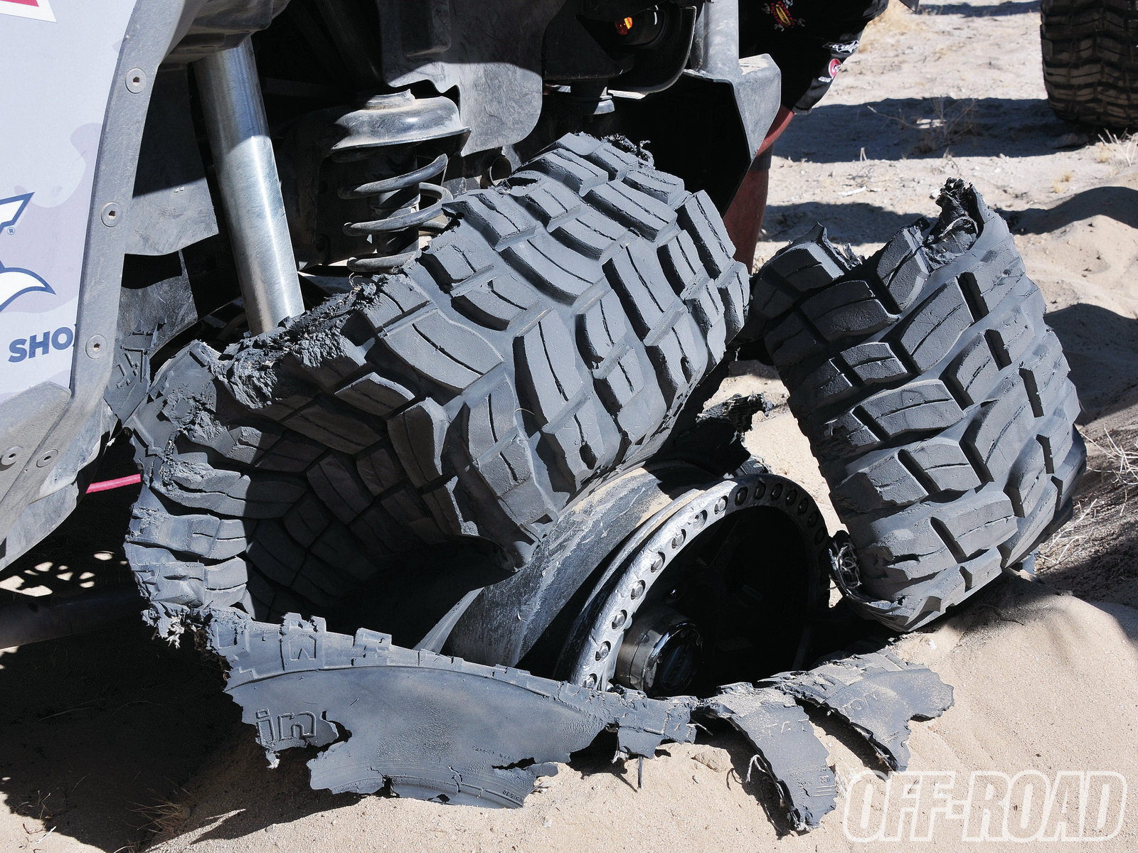 1206or 07+king of the hammers 2012+shriveled tire