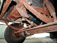 1207or 05+garners ground pounder 1969 amc sc rambler+unibody reinforcing plates