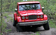 Jeep J 12 Concept off roading