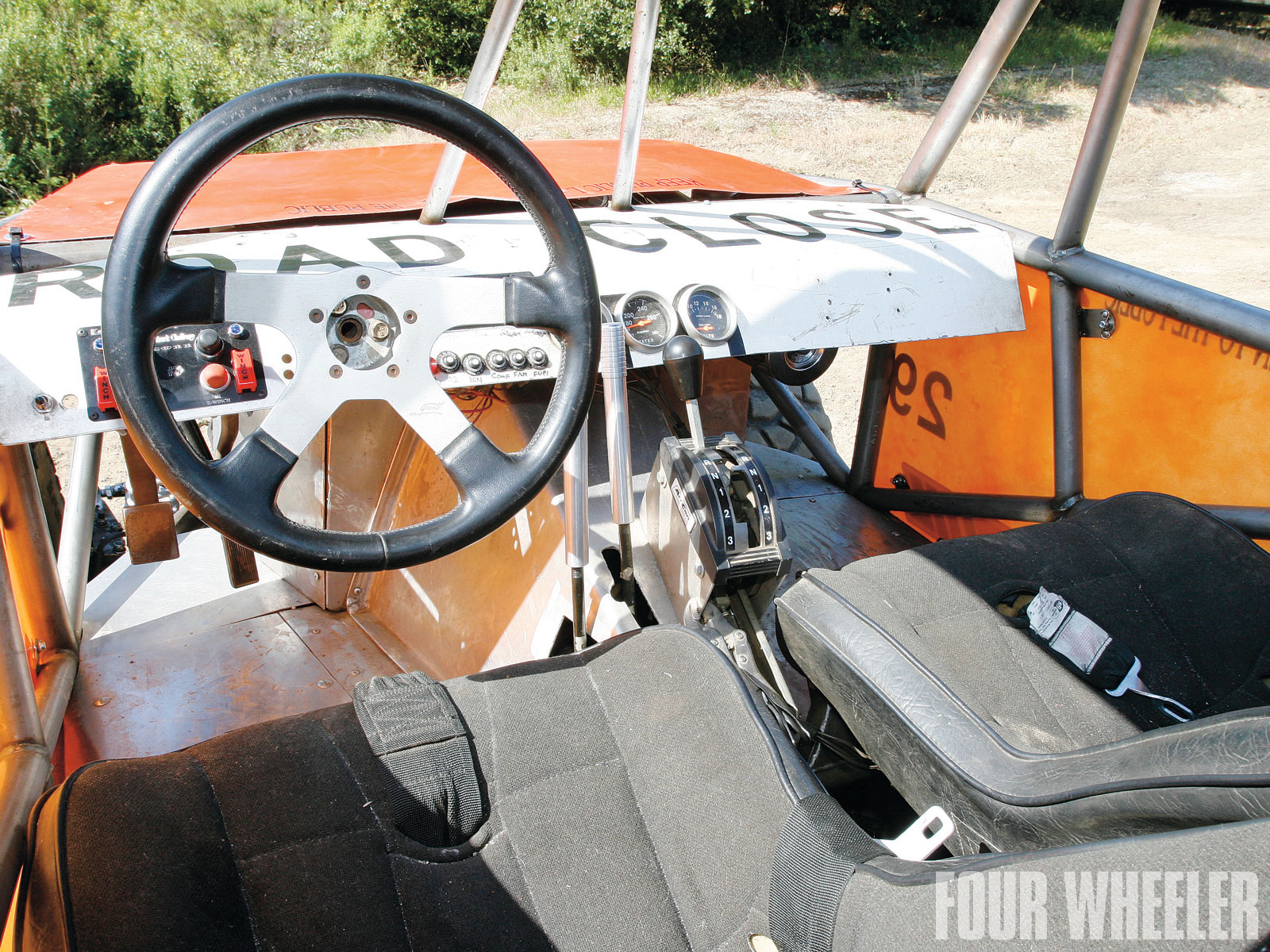 Brian Whitford 2010 11Th Hour Chassis Buggy Interior Shot