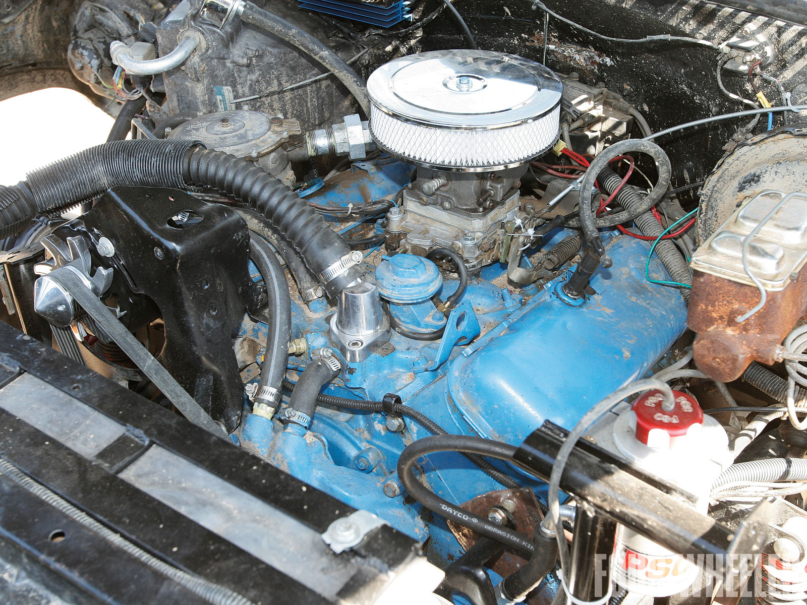 John Retzloff 1977 Gmc K15 Engine Shot
