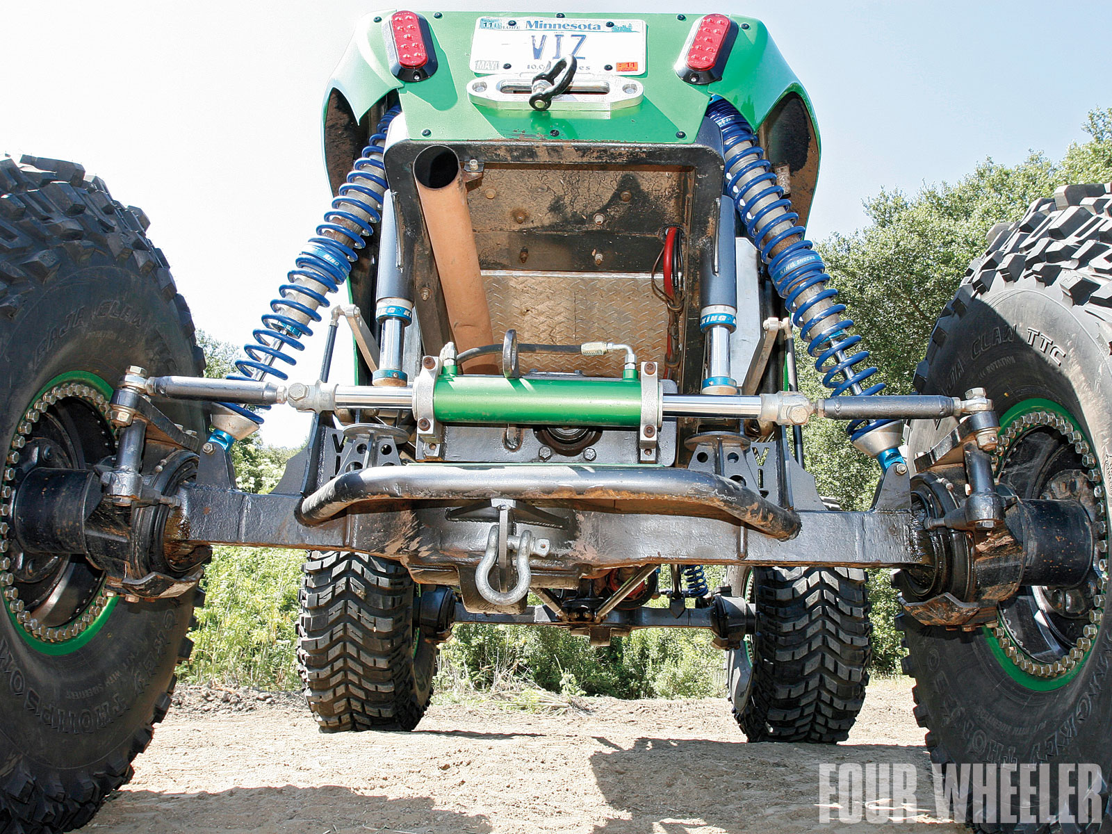 Shane Vizenor 2009 Lil Nasty Buggy Rear Axle