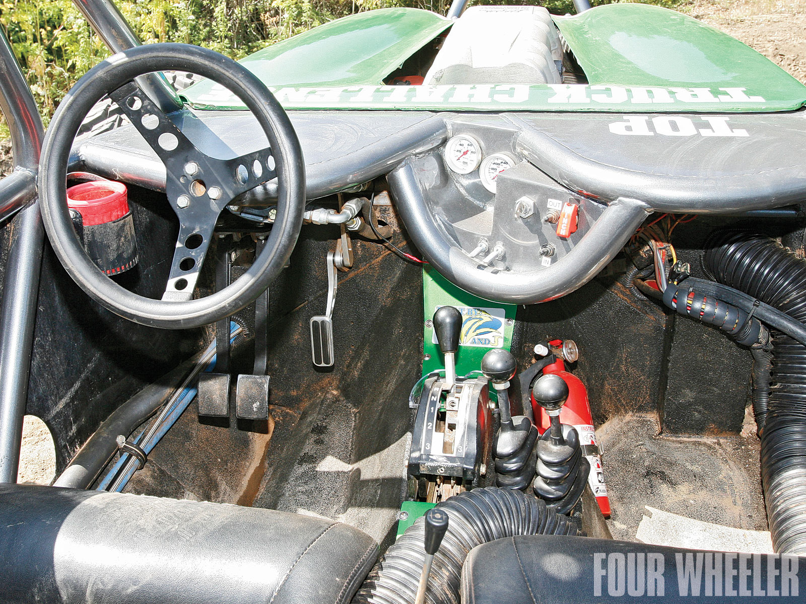Shane Vizenor 2009 Lil Nasty Buggy Interior Shot