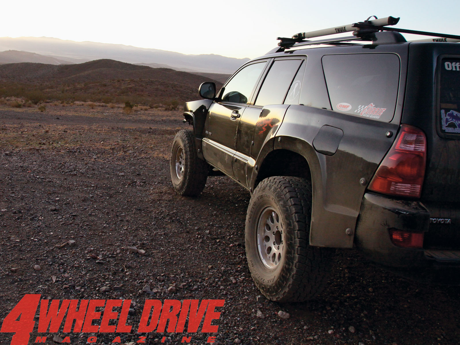4 Wheel Drive Desktop Wallpaper July 2011 2004 Toyota 4runner Side Photo 38844498