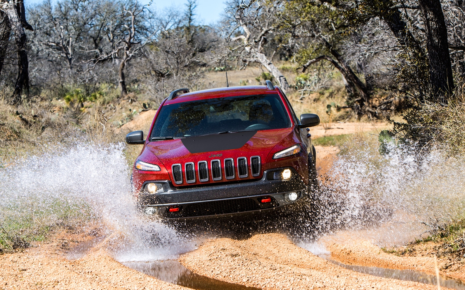 2014 Jeep Cherokee Trailhawk off road