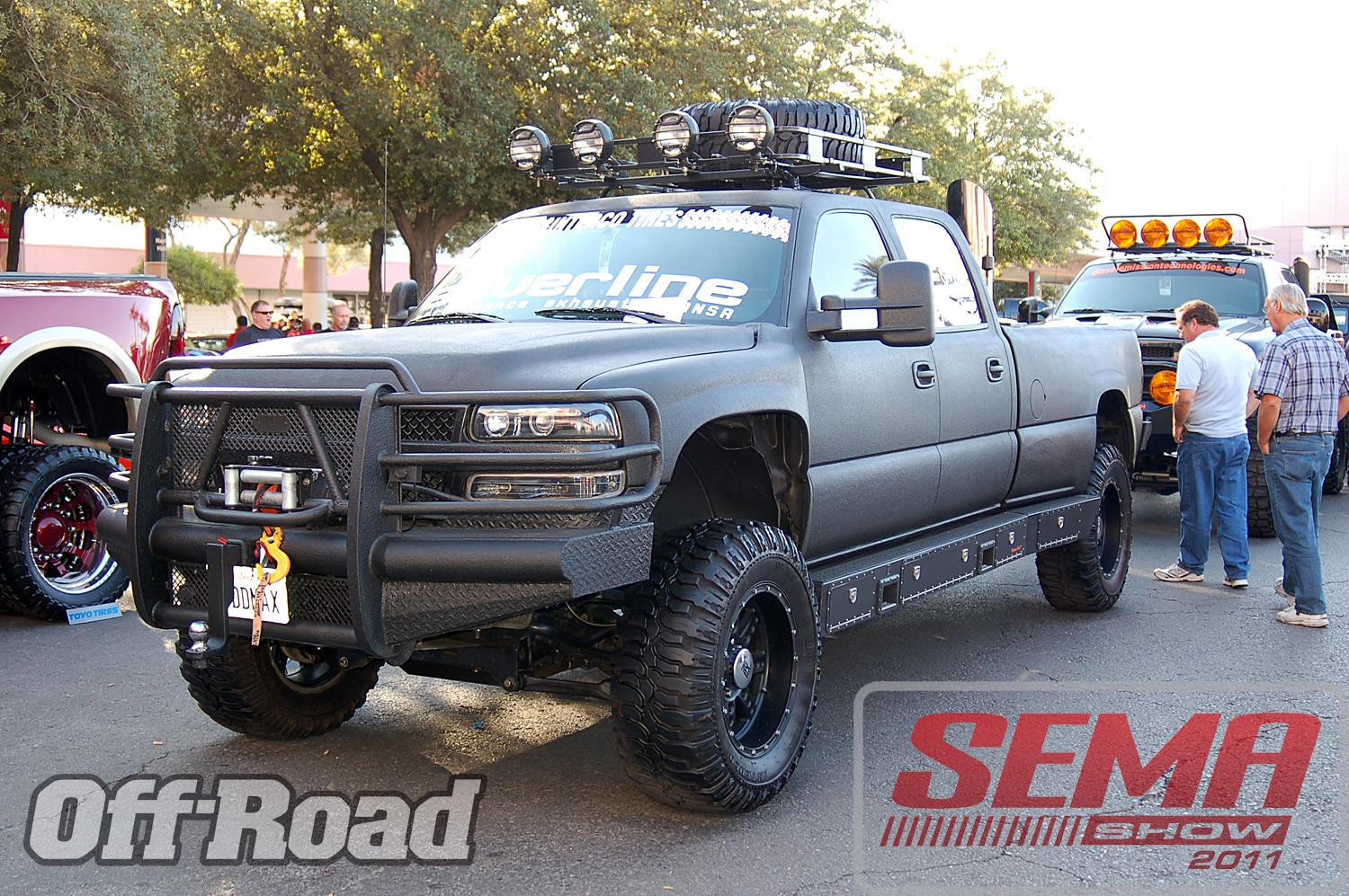 102312or 0197+2011 sema show+off road trucks and products