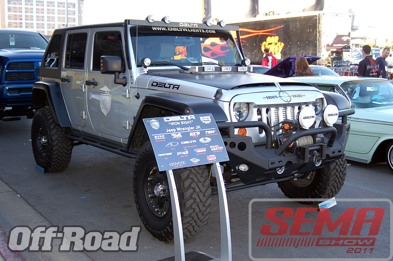 102312or 0151+2011 sema show+off road trucks and products