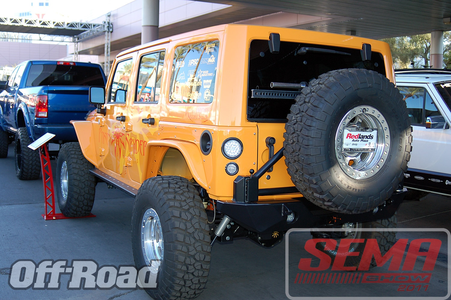 102312or 0149+2011 sema show+off road trucks and products