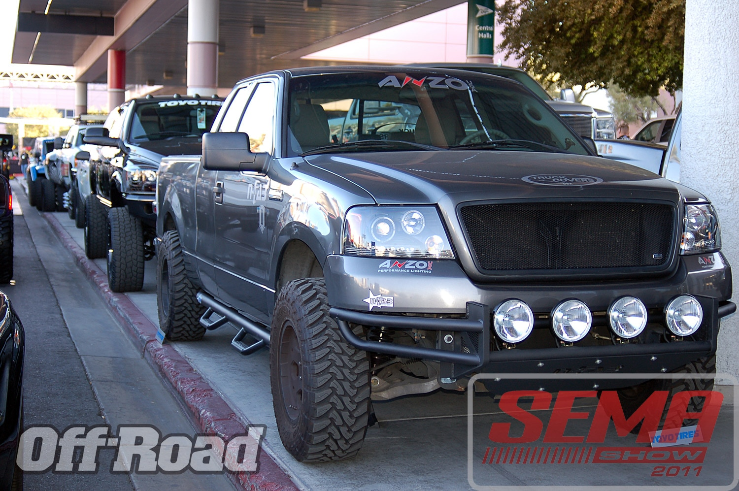 102312or 0130+2011 sema show+off road trucks and products