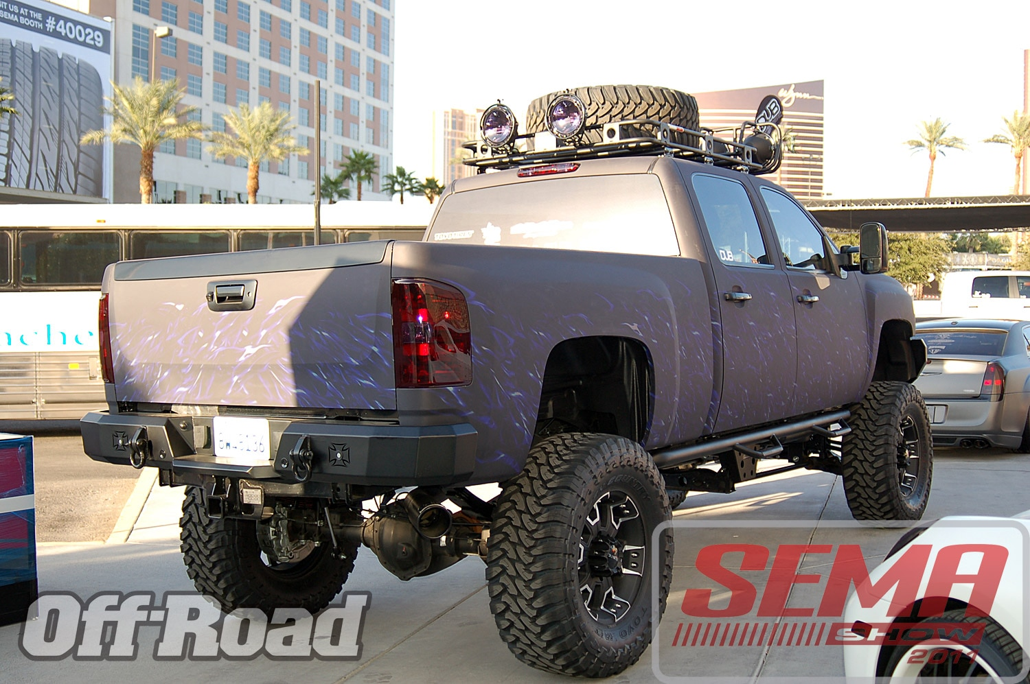 102312or 0092+2011 sema show+off road trucks and products