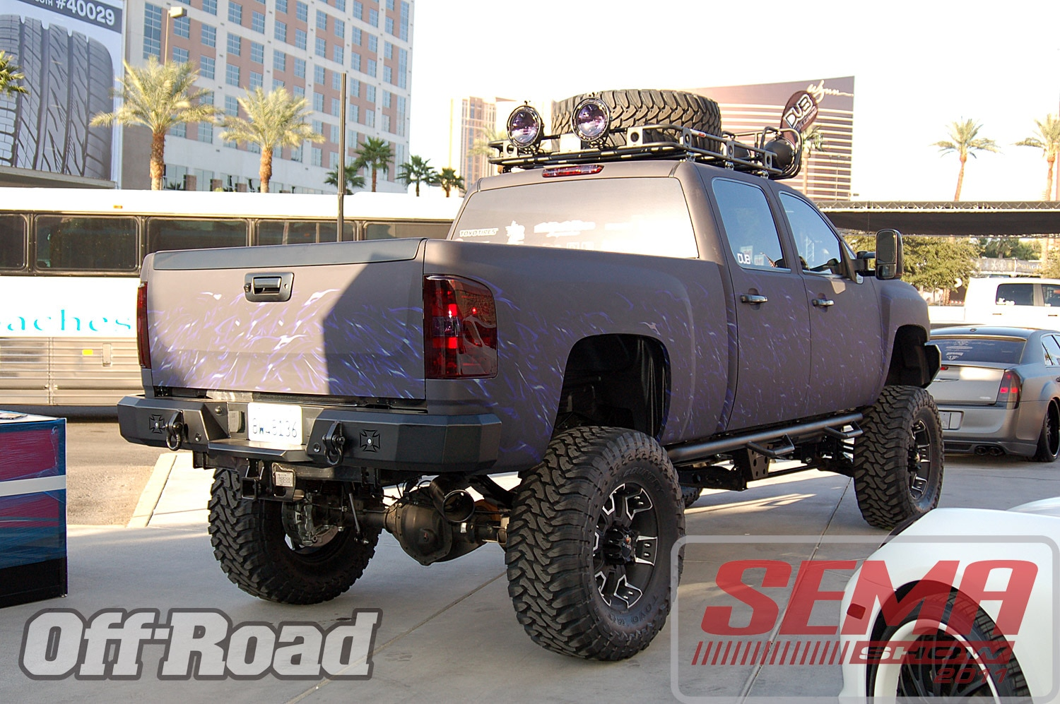 102312or 0091+2011 sema show+off road trucks and products
