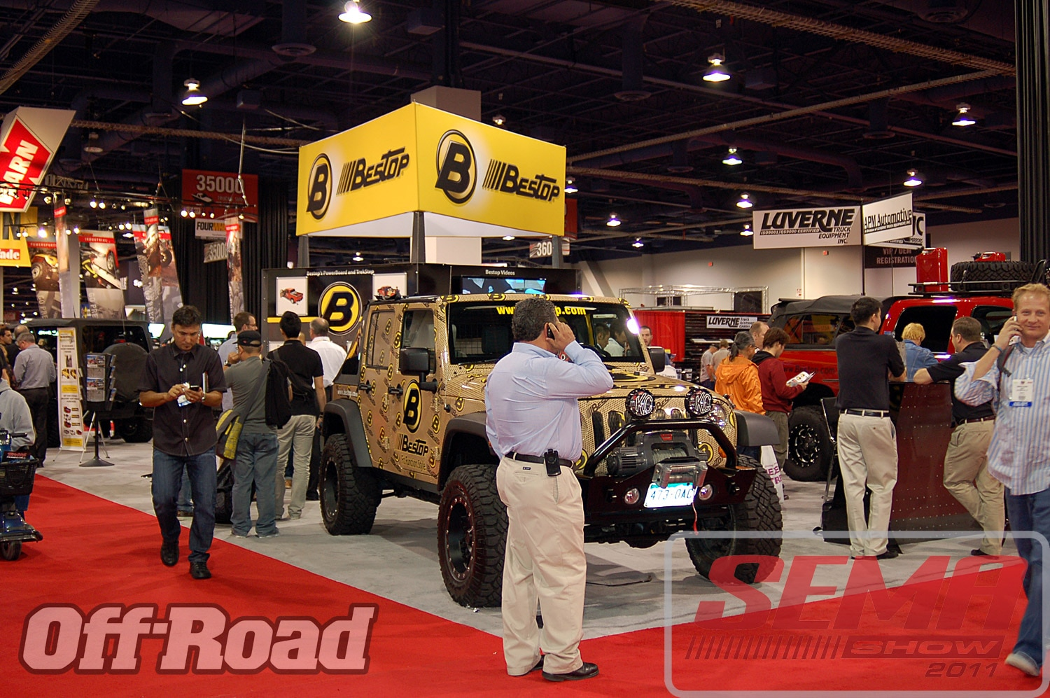 102312or 0048+2011 sema show+off road trucks and products