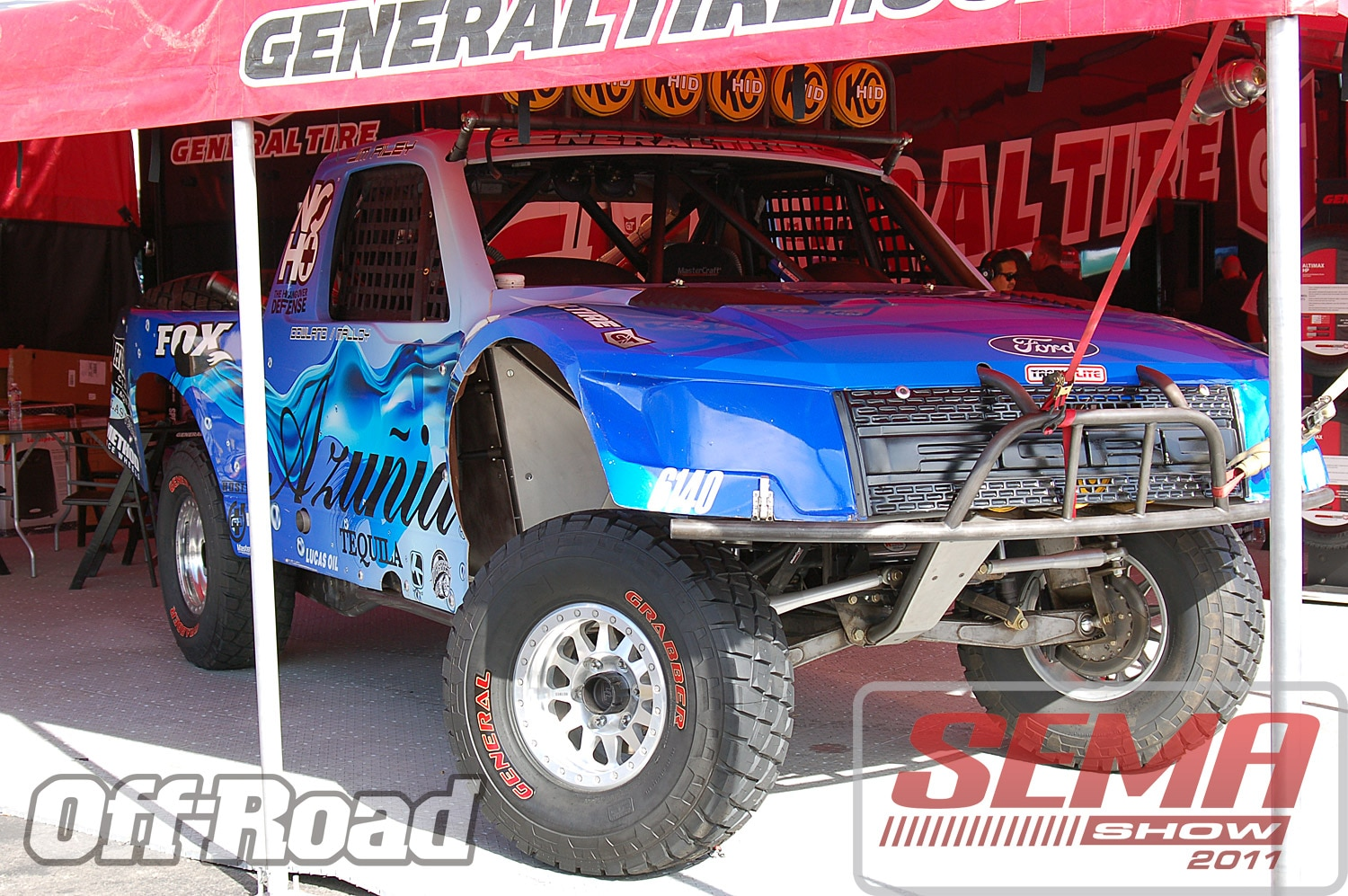 102312or 0020+2011 sema show+off road trucks and products