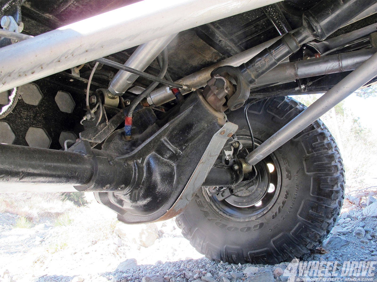 1306 4wd 07+1986 jeep cj 7+currie rockjock 60 axle