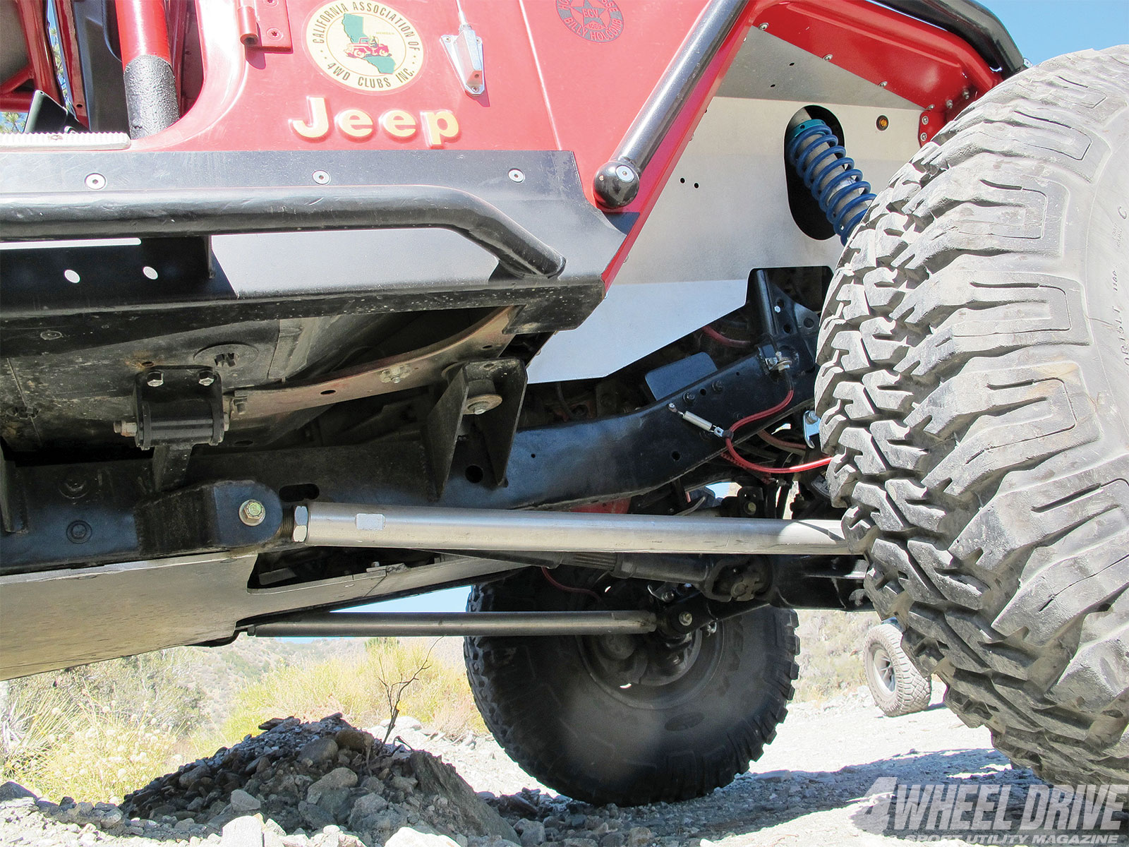 1306 4wd 09+1986 jeep cj 7+metalcloak inner fenders
