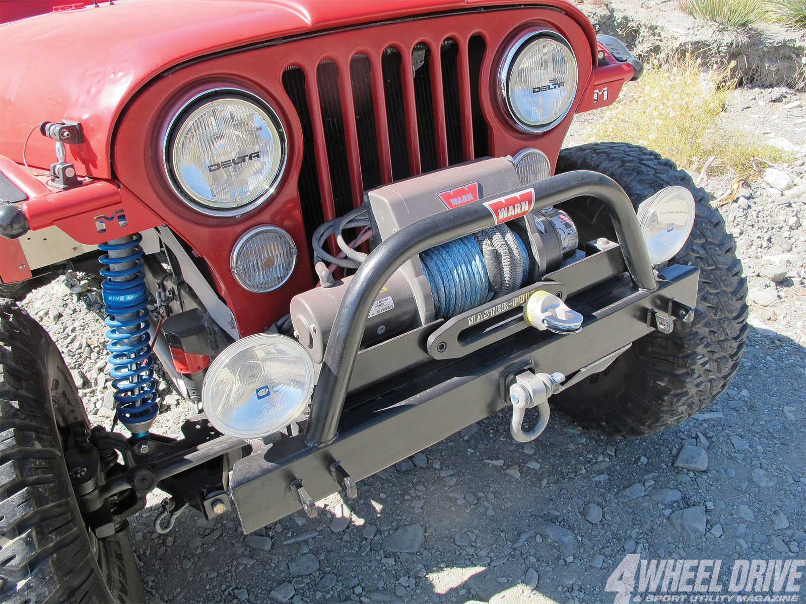 1306 4wd 13+1986 jeep cj 7+warn winch