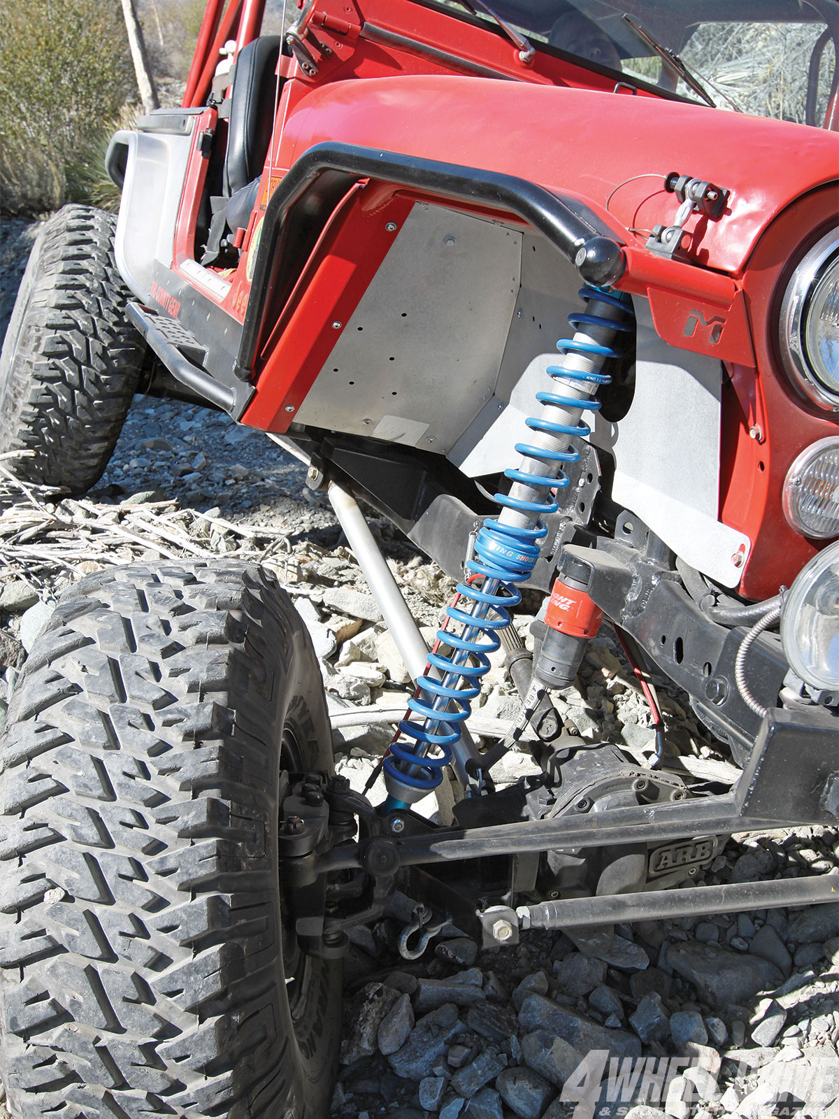 1306 4wd 18+1986 jeep cj 7+king coilover