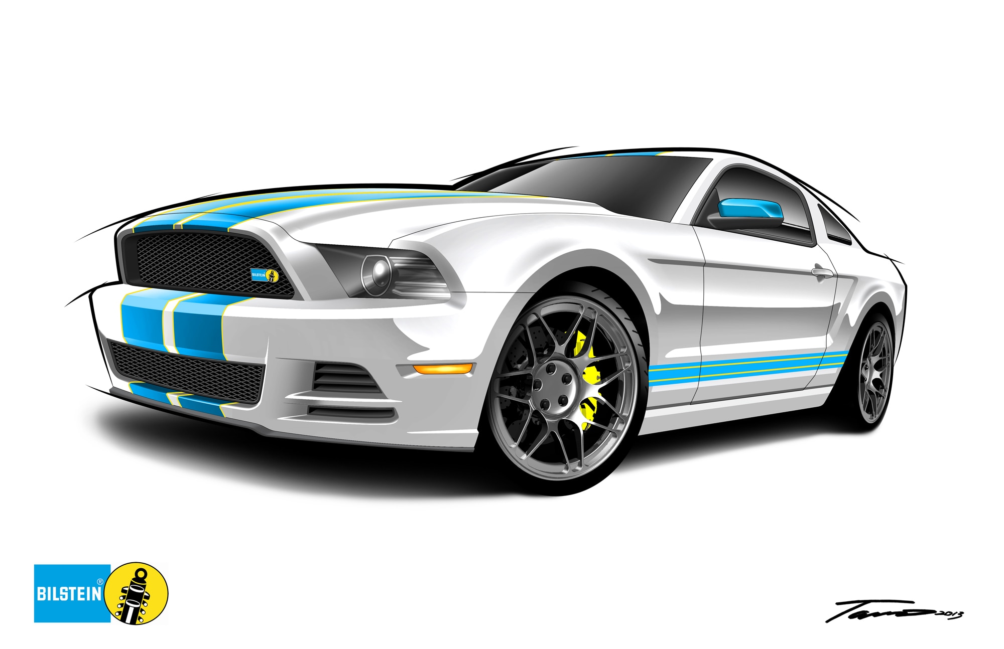 052213tr+ford mustang gt 5 0 bilstein+just add sweepstakes