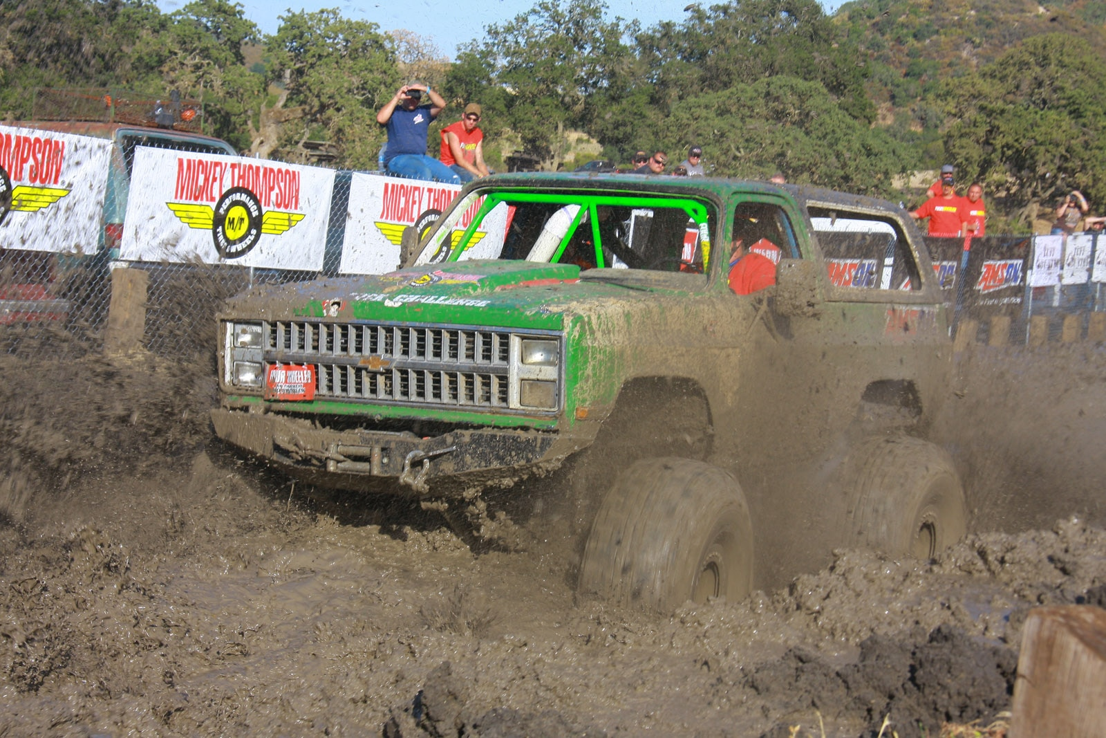 top truck challenge 2013 mud pit 078 1987 gmc k5 jimmy