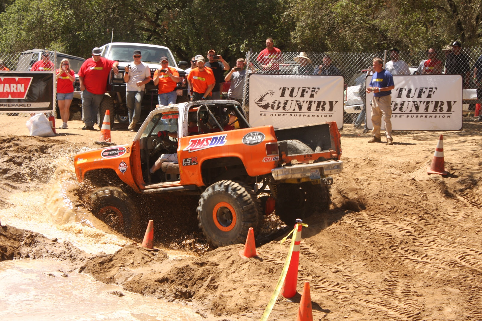 top truck challenge 2013 obsticle course 062 1978 chevy k5 blazer