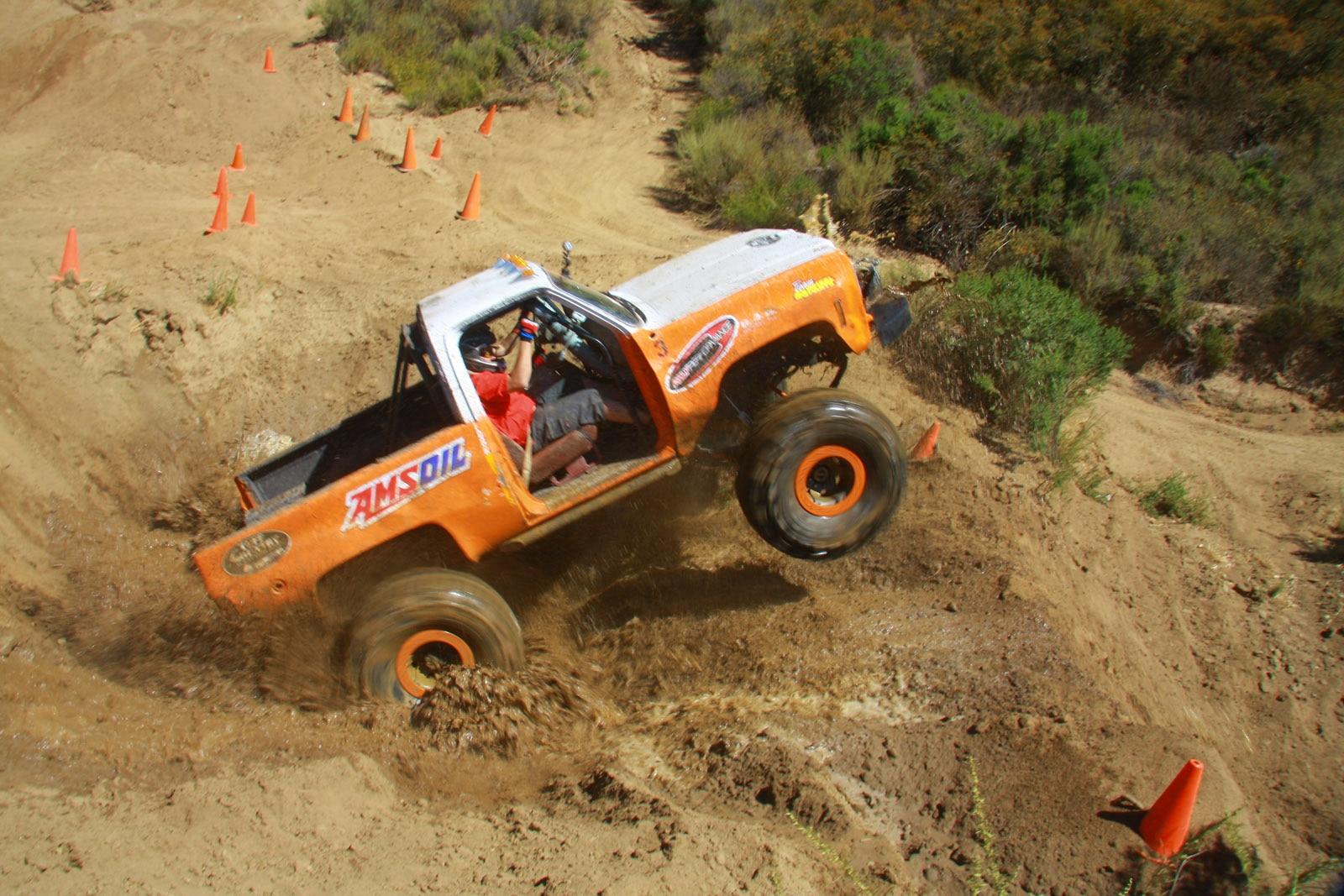 top truck challenge 2013 obsticle course 071 1978 chevy k5 blazer