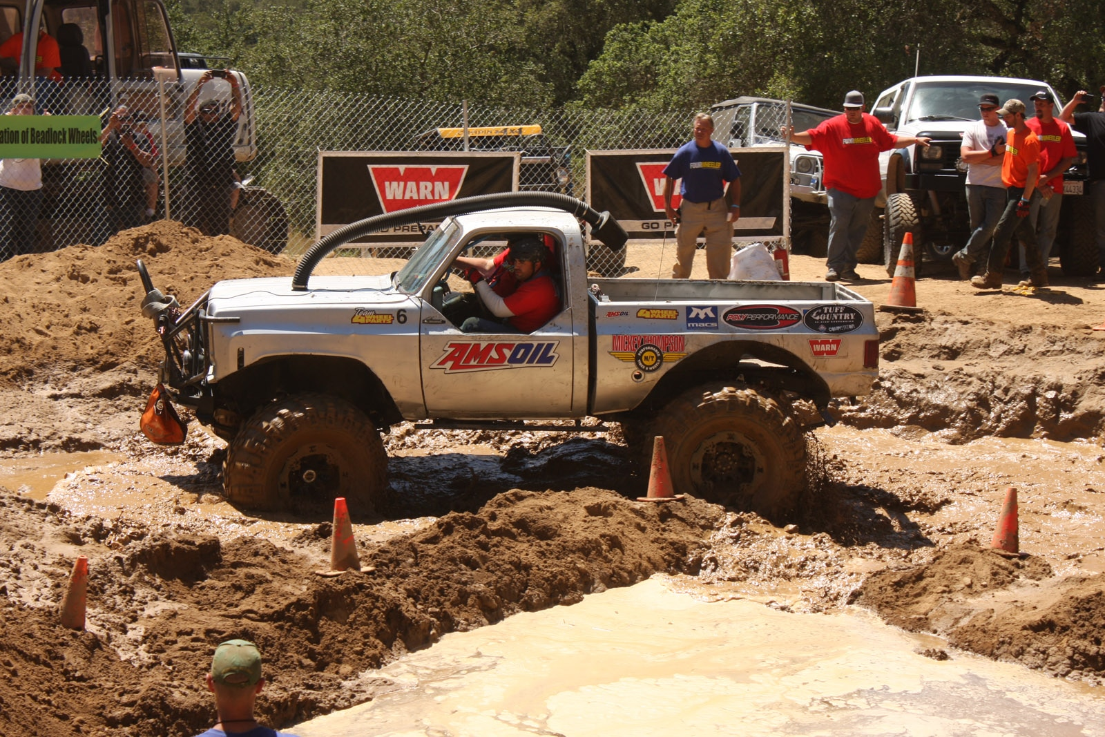 top truck challenge 2013 obsticle course 081 1977 gmc k15