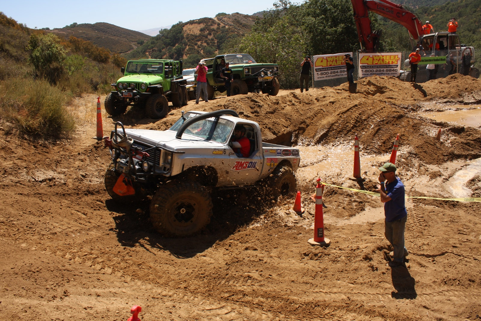 top truck challenge 2013 obsticle course 084 1977 gmc k15