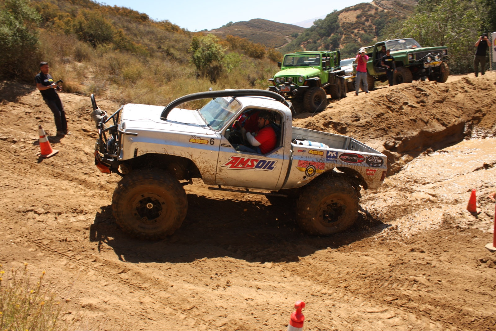top truck challenge 2013 obsticle course 085 1977 gmc k15