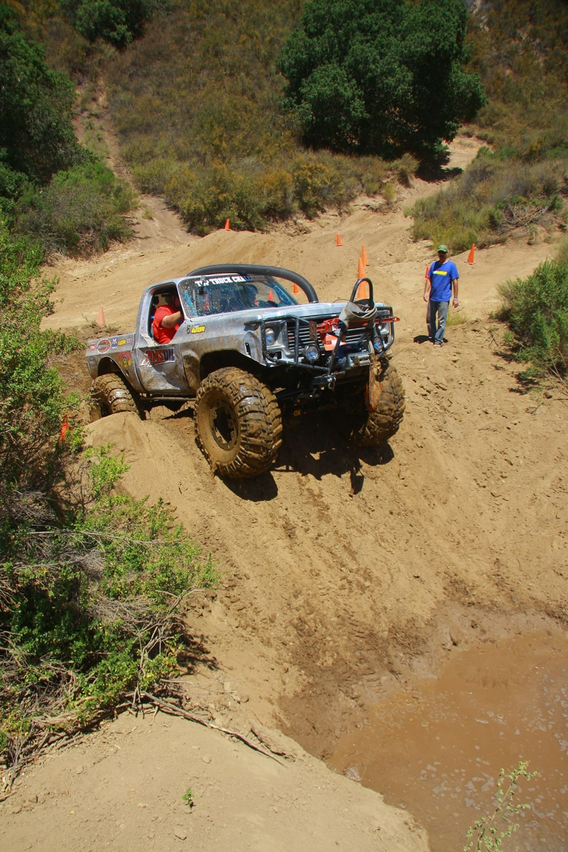 top truck challenge 2013 obsticle course 087 1977 gmc k15