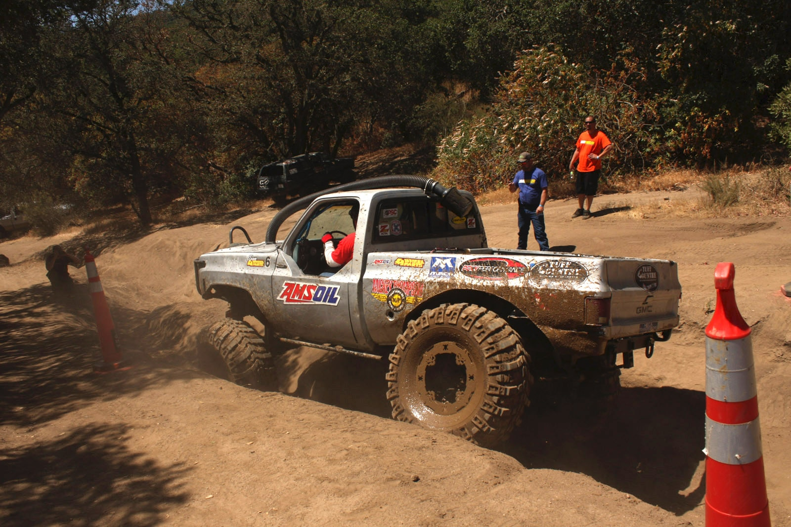 top truck challenge 2013 obsticle course 092 1977 gmc k15