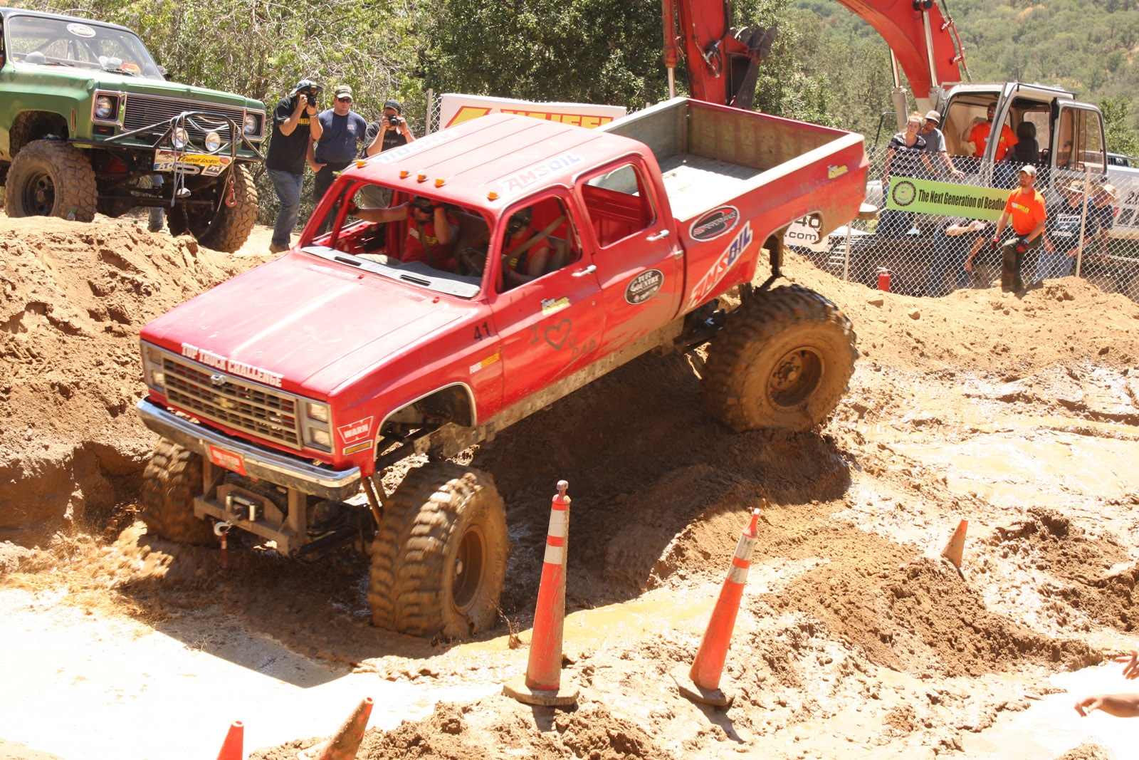 top truck challenge 2013 obsticle course 130 1989 chevy k30 crew cab