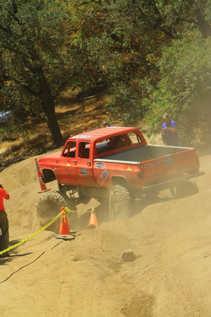 top truck challenge 2013 obsticle course 133 1989 chevy k30 crew cab