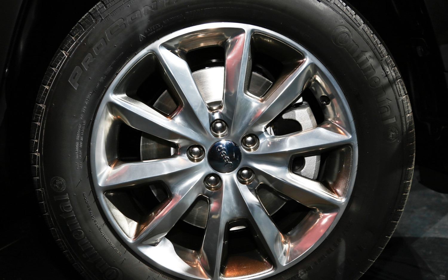 2014 Jeep Cherokee Limited wheels 21