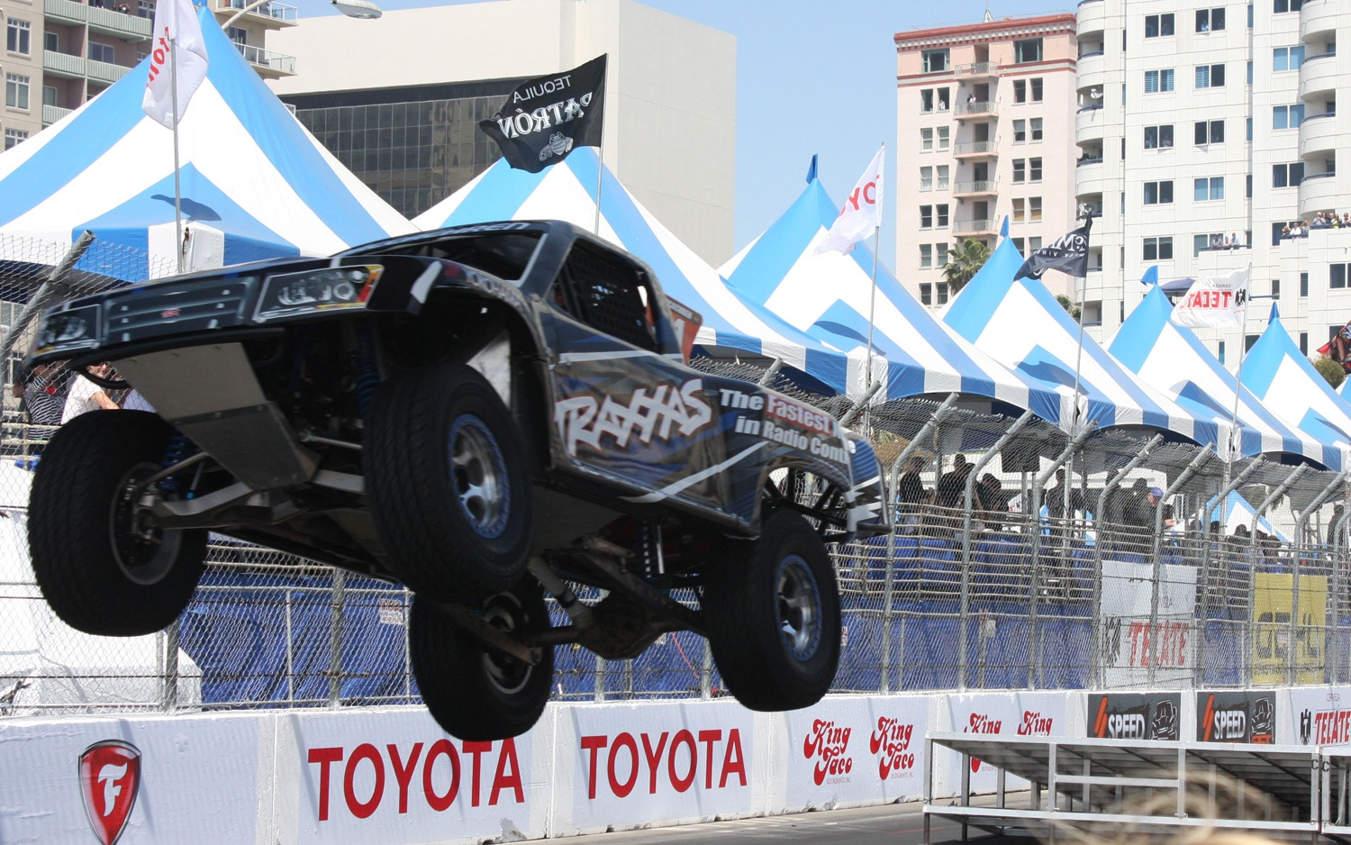 1304OR 07+Robby Gordon SST Stadium Super Trucks 2013 Long Beach Grand Prix Rob MacCachren