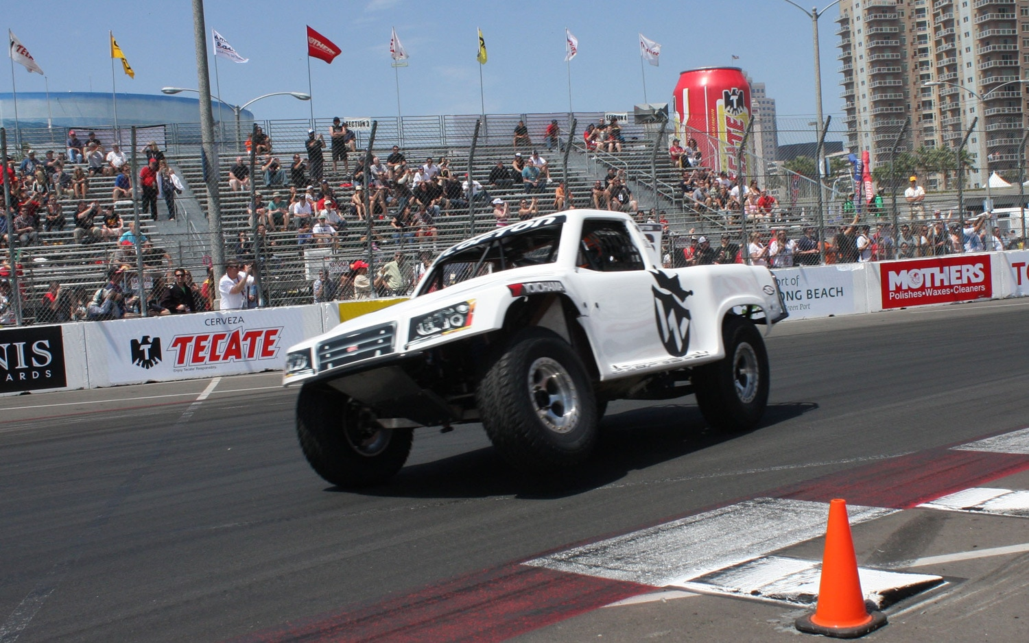 1304OR 11+Robby Gordon SST Stadium Super Trucks 2013 Long Beach Grand Prix Juston Lofton