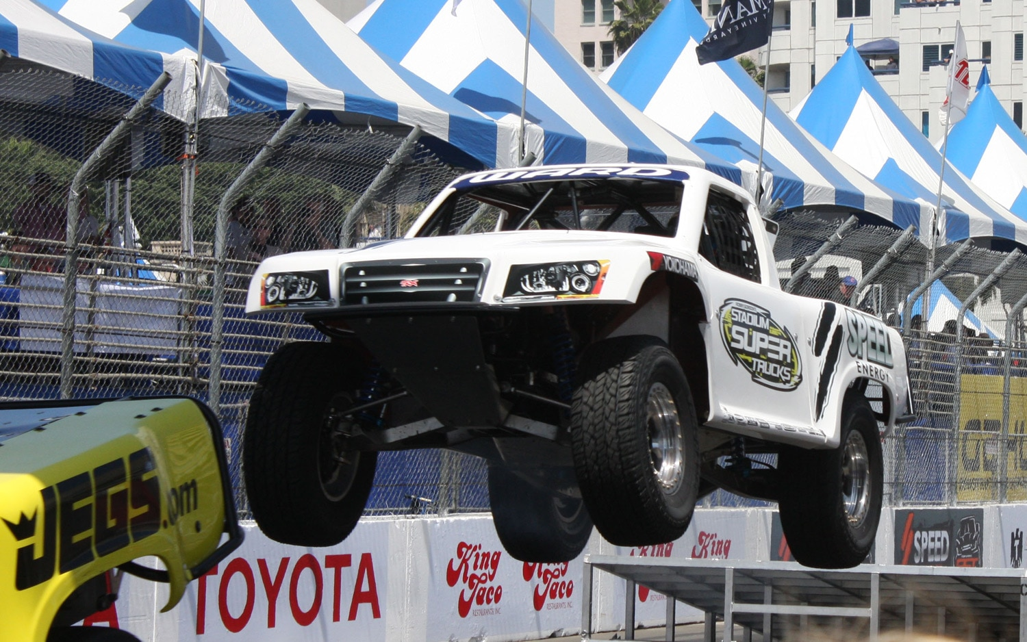 1304OR 12+Robby Gordon SST Stadium Super Trucks 2013 Long Beach Grand Prix Jeff Ward