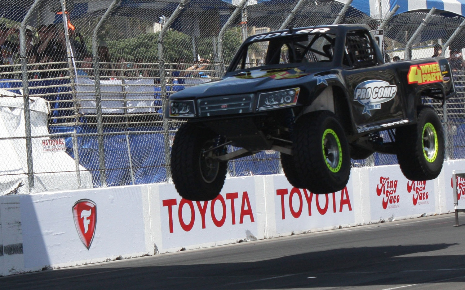 1304OR 13+Robby Gordon SST Stadium Super Trucks 2013 Long Beach Grand Prix Greg Adler