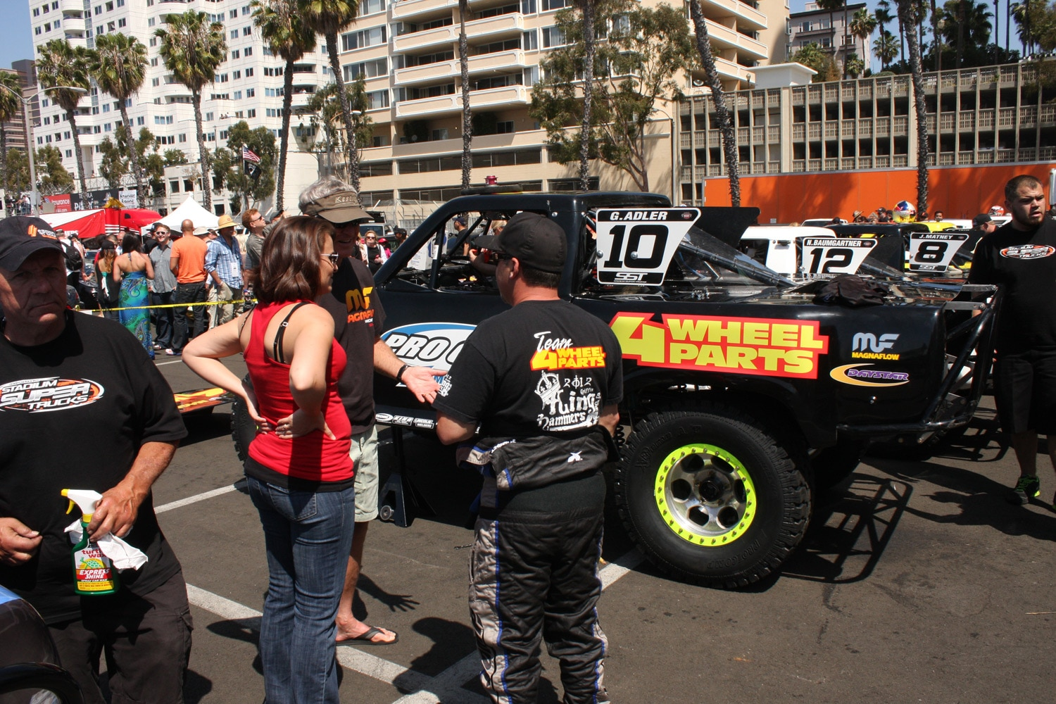 1304OR 14+Robby Gordon SST Stadium Super Trucks 2013 Long Beach Grand Prix Greg Adler