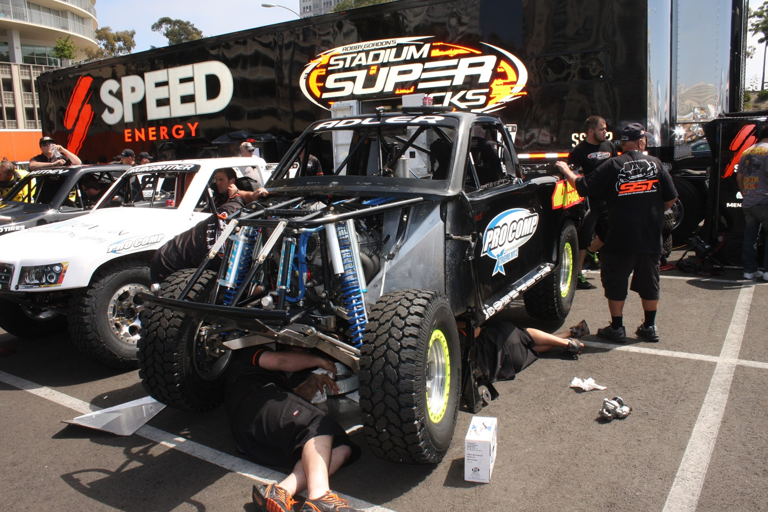 1304OR 19+Robby Gordon SST Stadium Super Trucks 2013 Long Beach Grand Prix