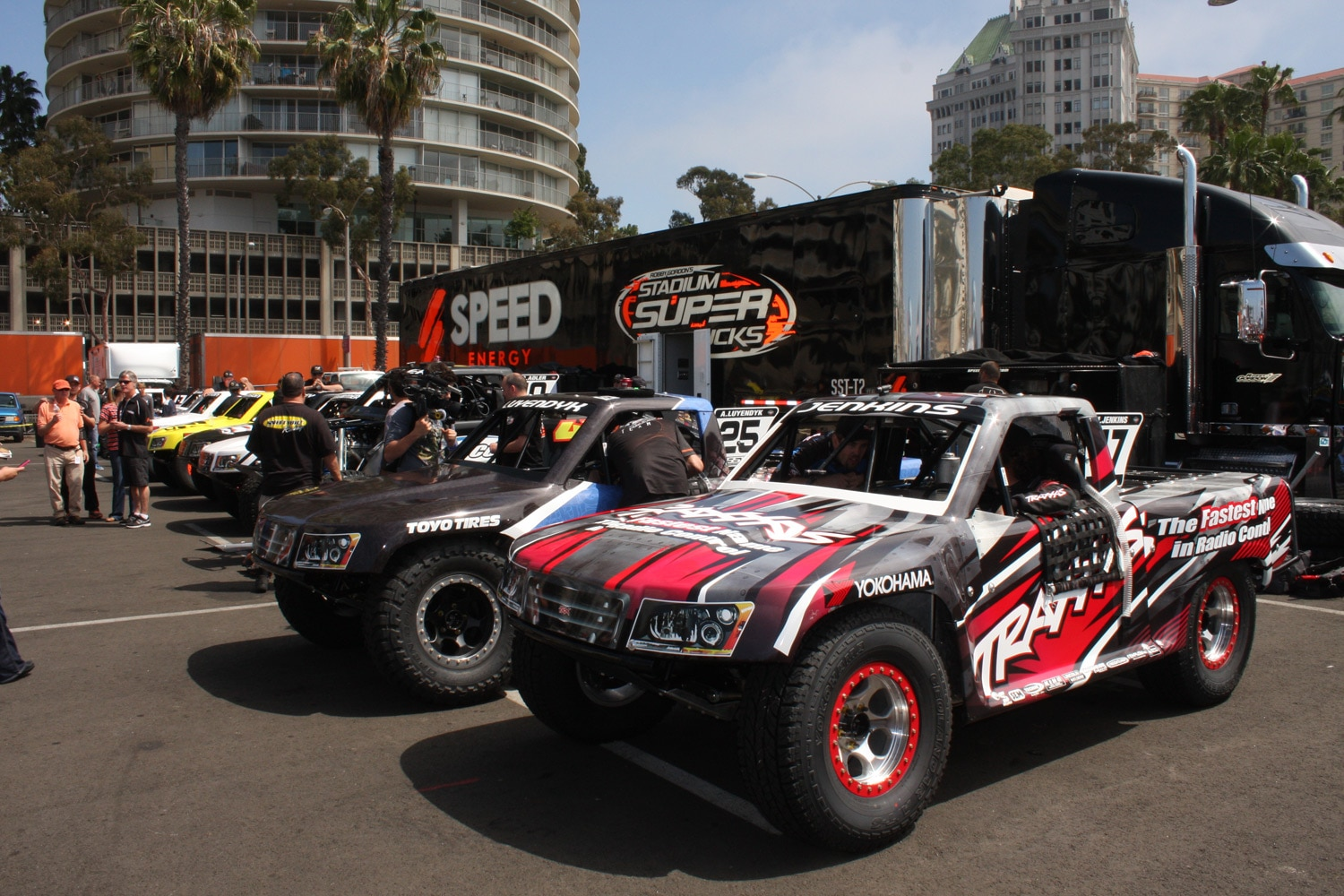 1304OR 20+Robby Gordon SST Stadium Super Trucks 2013 Long Beach Grand Prix