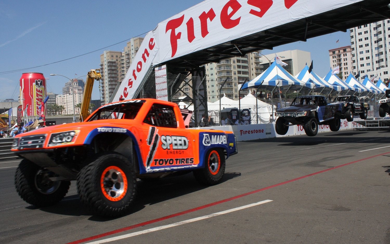 1304OR 23+Robby Gordon SST Stadium Super Trucks 2013 Long Beach Grand Prix