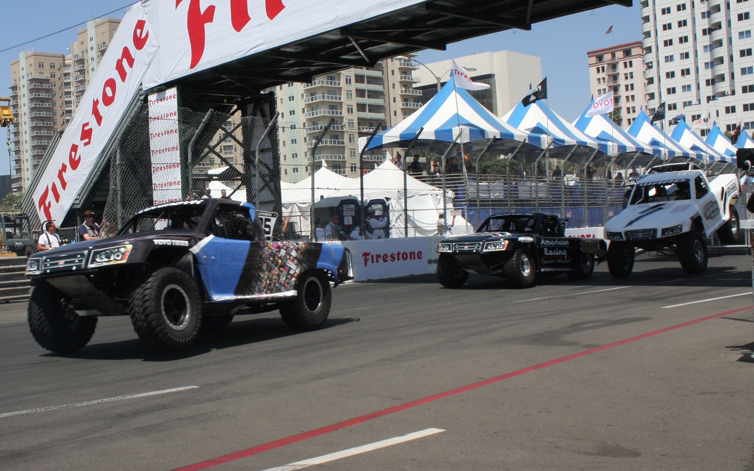 1304OR 25+Robby Gordon SST Stadium Super Trucks 2013 Long Beach Grand Prix
