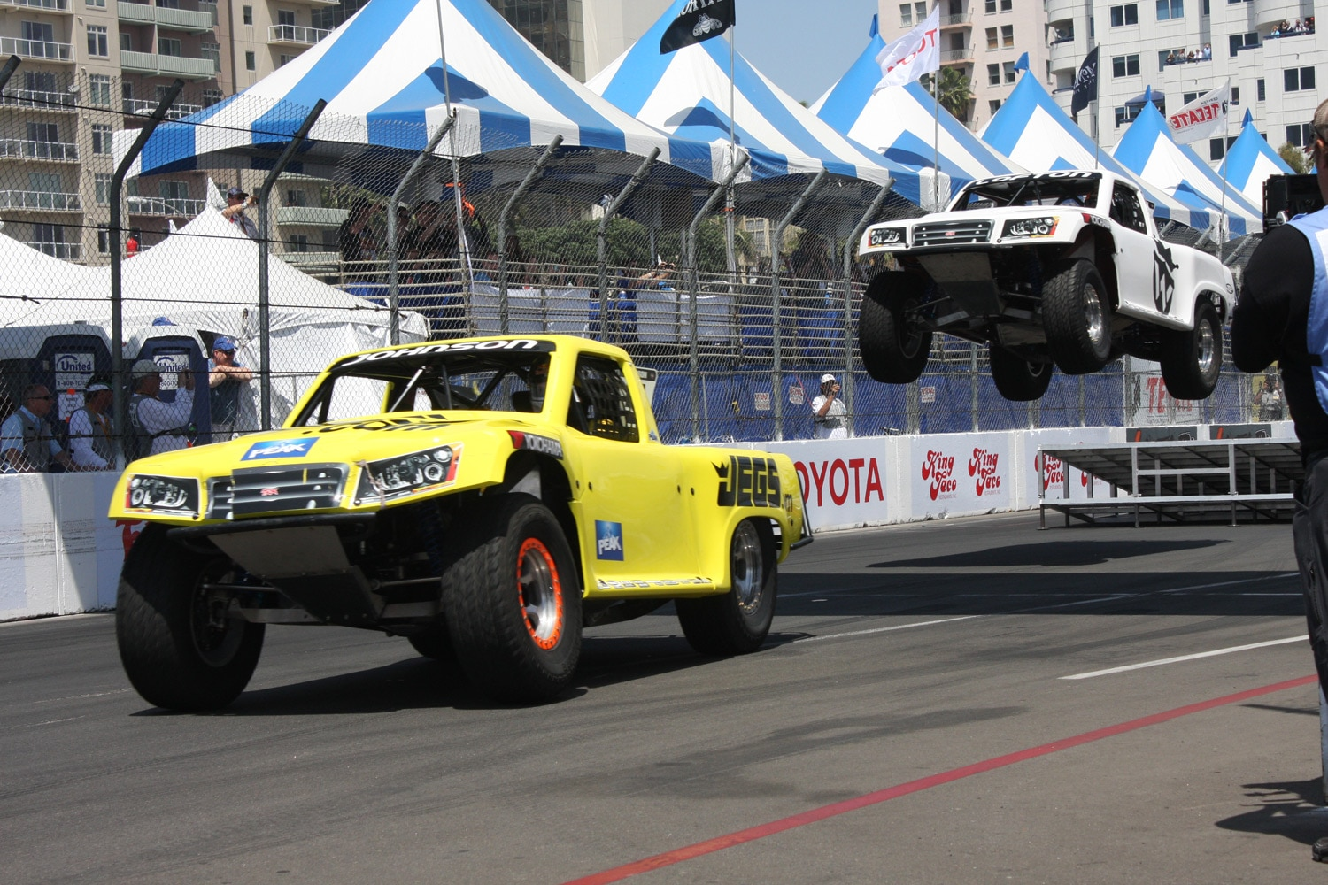 1304OR 26+Robby Gordon SST Stadium Super Trucks 2013 Long Beach Grand Prix