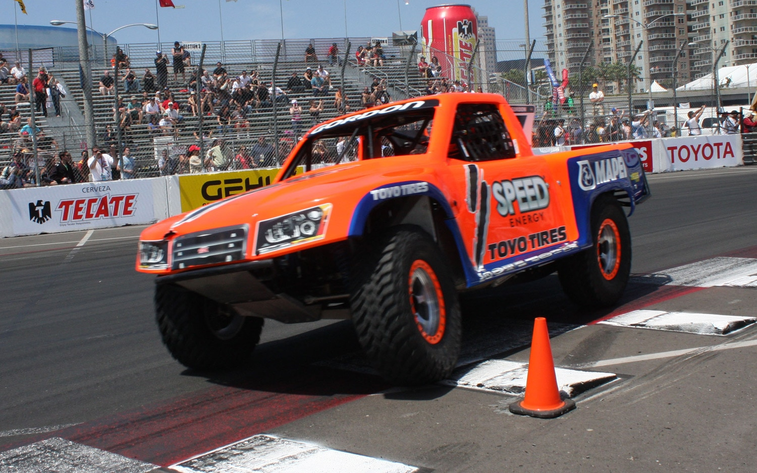 1304OR 27+Robby Gordon SST Stadium Super Trucks 2013 Long Beach Grand Prix