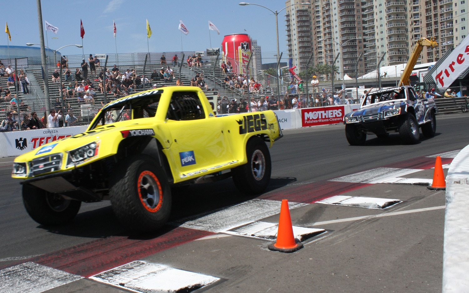 1304OR 28+Robby Gordon SST Stadium Super Trucks 2013 Long Beach Grand Prix