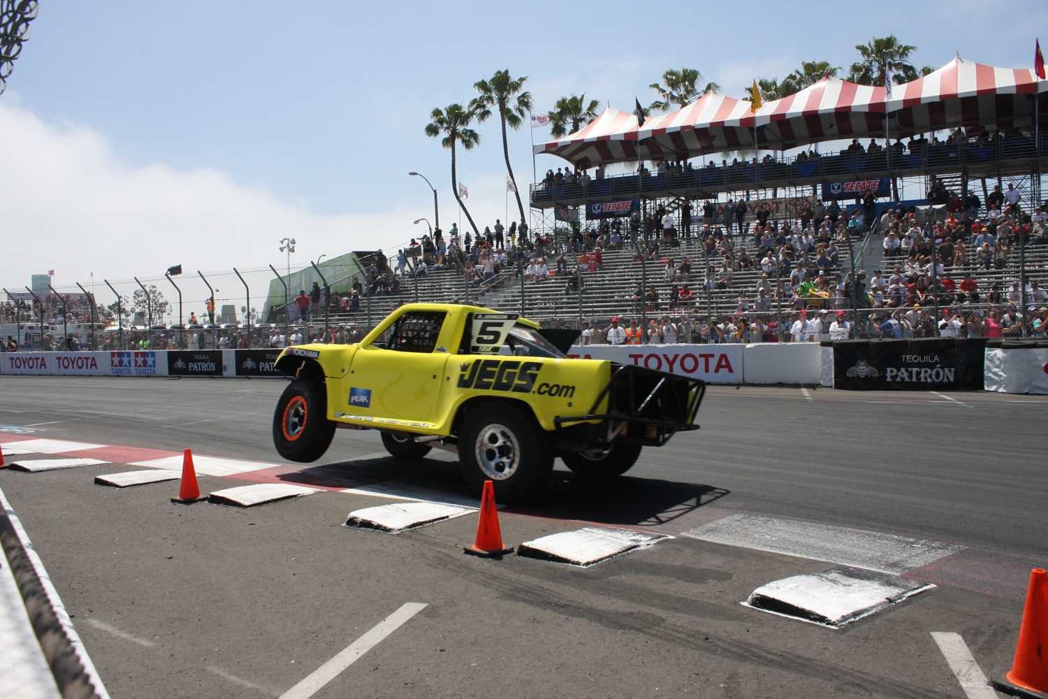 1304OR 29+Robby Gordon SST Stadium Super Trucks 2013 Long Beach Grand Prix