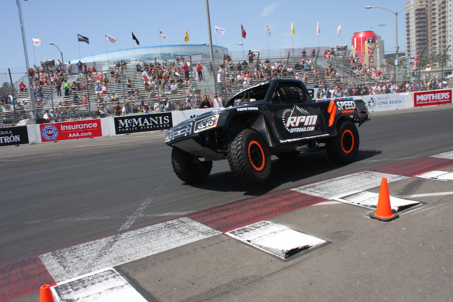 1304OR 30+Robby Gordon SST Stadium Super Trucks 2013 Long Beach Grand Prix
