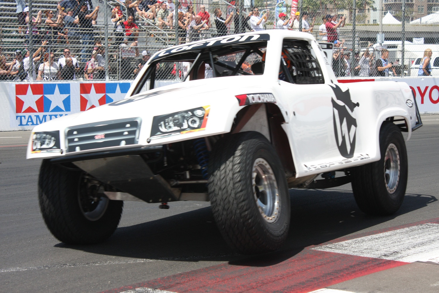 1304OR 32+Robby Gordon SST Stadium Super Trucks 2013 Long Beach Grand Prix